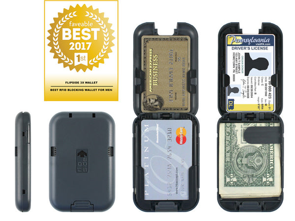 Faveable Ranks Flipside 3X Wallet as the Best RFID Blocking Wallet for Men