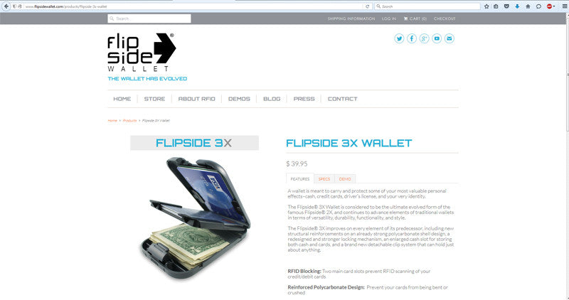 Welcome to the New flipsidewallet.com!
