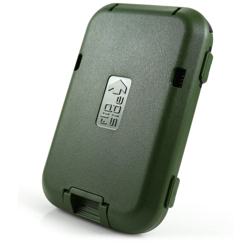 flipside tactical rfid wallet in military green