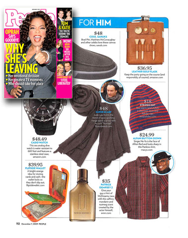 Flipside Wallets in People Magazine