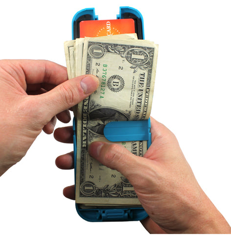 flipside wallet securely stores and organizes your cash