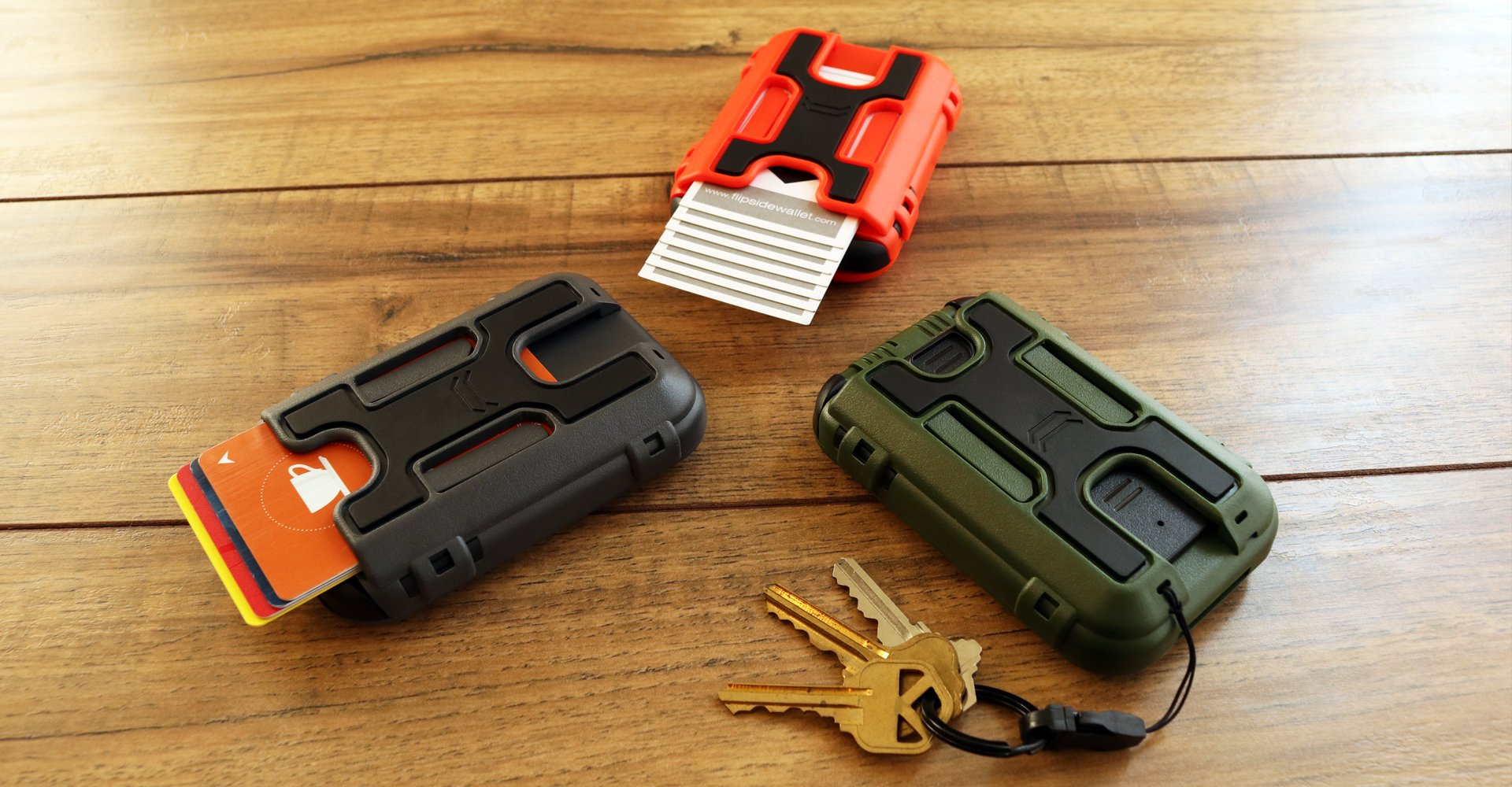 modular wallet attachments for your flipside wallet that increases its capacity