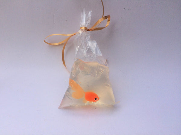 Goldfish In A Bag ~ Artisan Soap