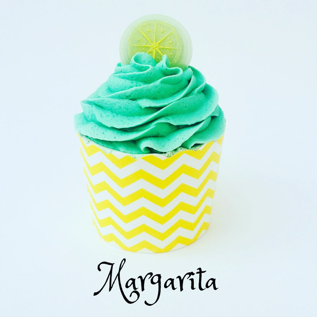 Margarita ~ Bubble Bath Bomb Cupcake