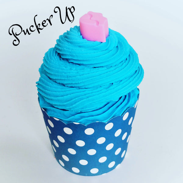 Pucker Up ~ Bubble Bath Bomb Cupcake