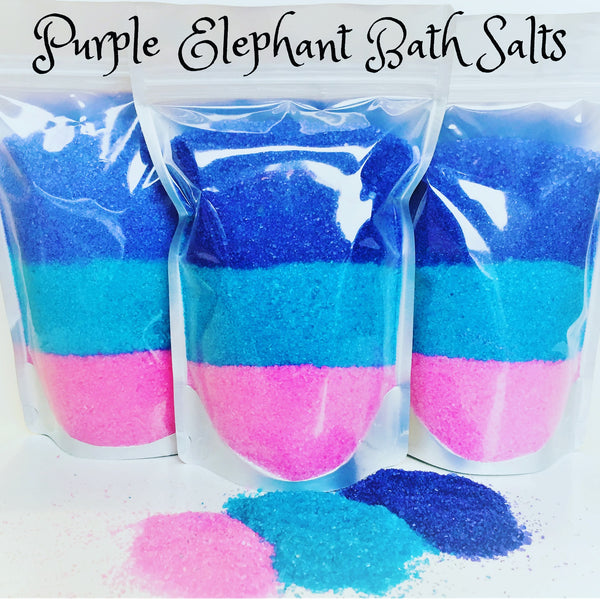 Purple Elephant ~ Bath Salts