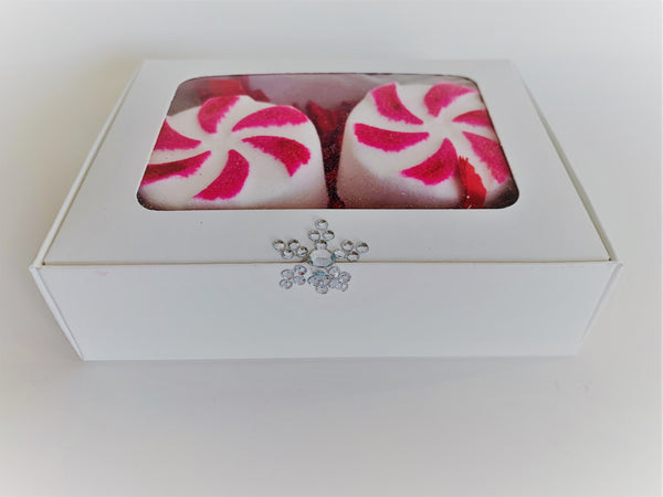Peppermint Twist ~ Luxe Bath Bomb