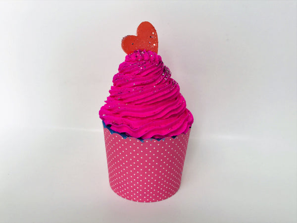 Love Spell ~ Bubble Bath Bomb Cupcake