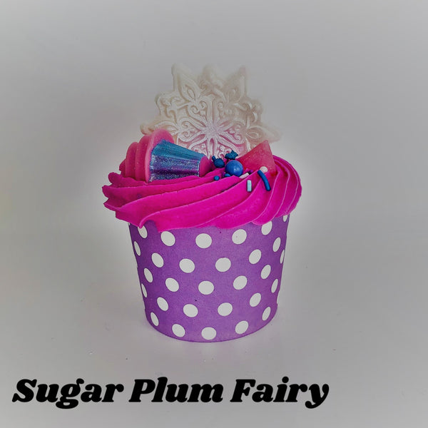 Sugar Plum Fairy ~ Bubble Bath Bomb Cupcake