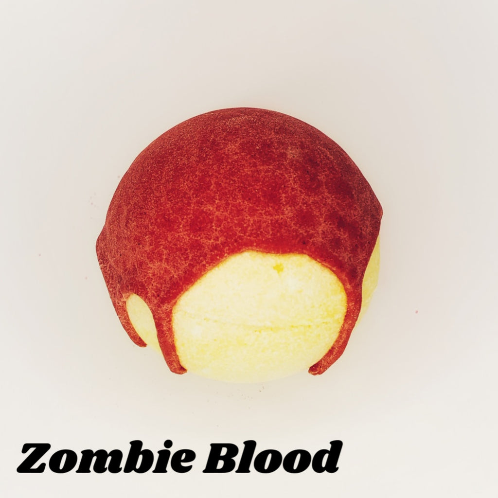 Zombie Blood ~ Bath Bomb