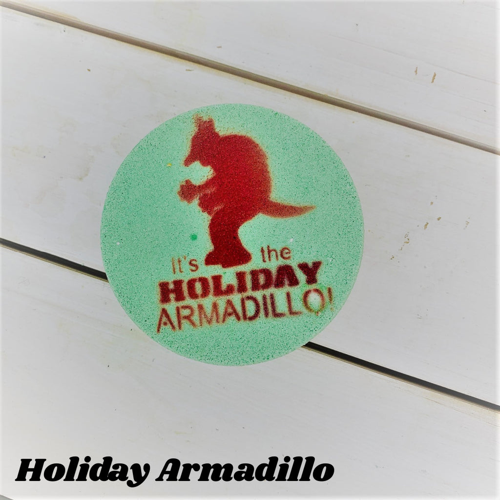 Holiday Armadillo ~ Luxe Bath Bomb