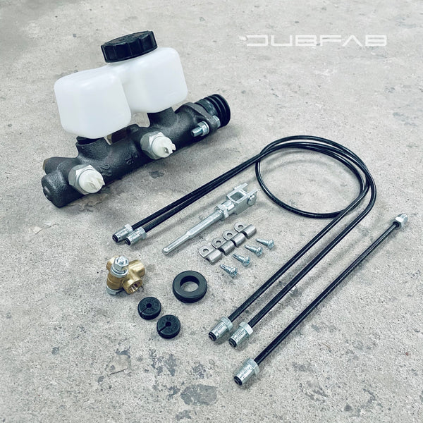 Bus Dual Circuit Master Cylinder Conversion - Comprehensive Kit