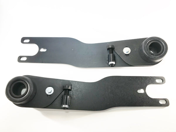 Straight Axle Adjustable Spring Plates - Split Bus