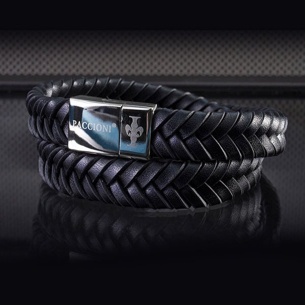 Paccioni Leather bracelet
