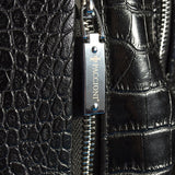 Paccioni Croc-Leather Back Pack