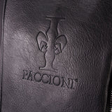 Paccioni Plain Leather Back Pack