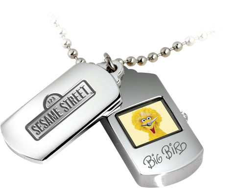 Iconic Sesame Street Watch Dog Tags