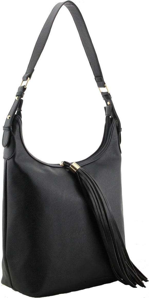 A2. Black Designer Ladies Handbag by Suki - So Handbags