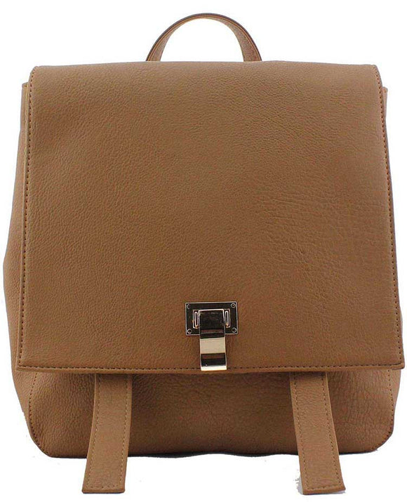 A1. Tan Designer Ladies Backpack - So Handbags