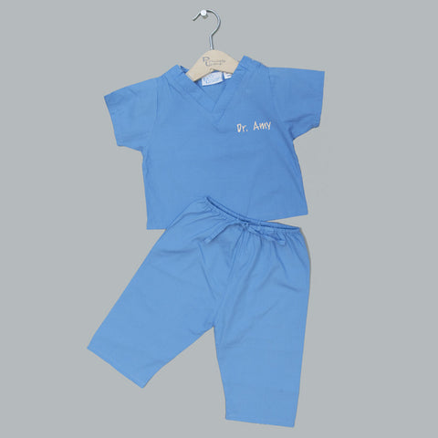 Infant and Toddler My First Scrubs - Blue