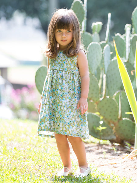 Olive Meadow Dress
