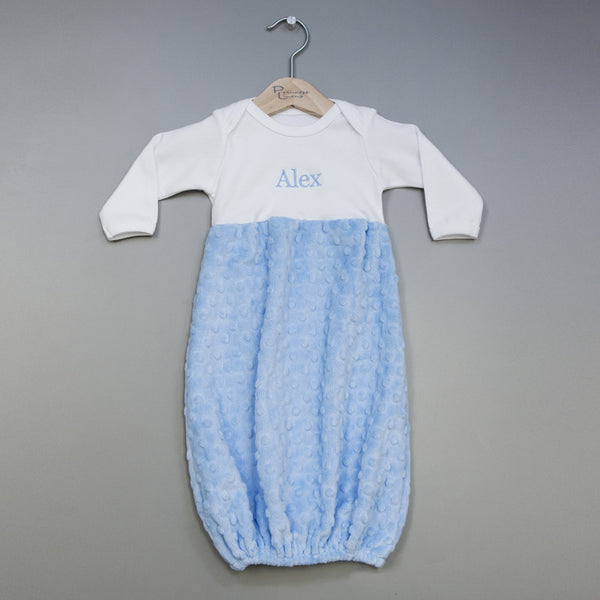 Snuggle Gown - Blue