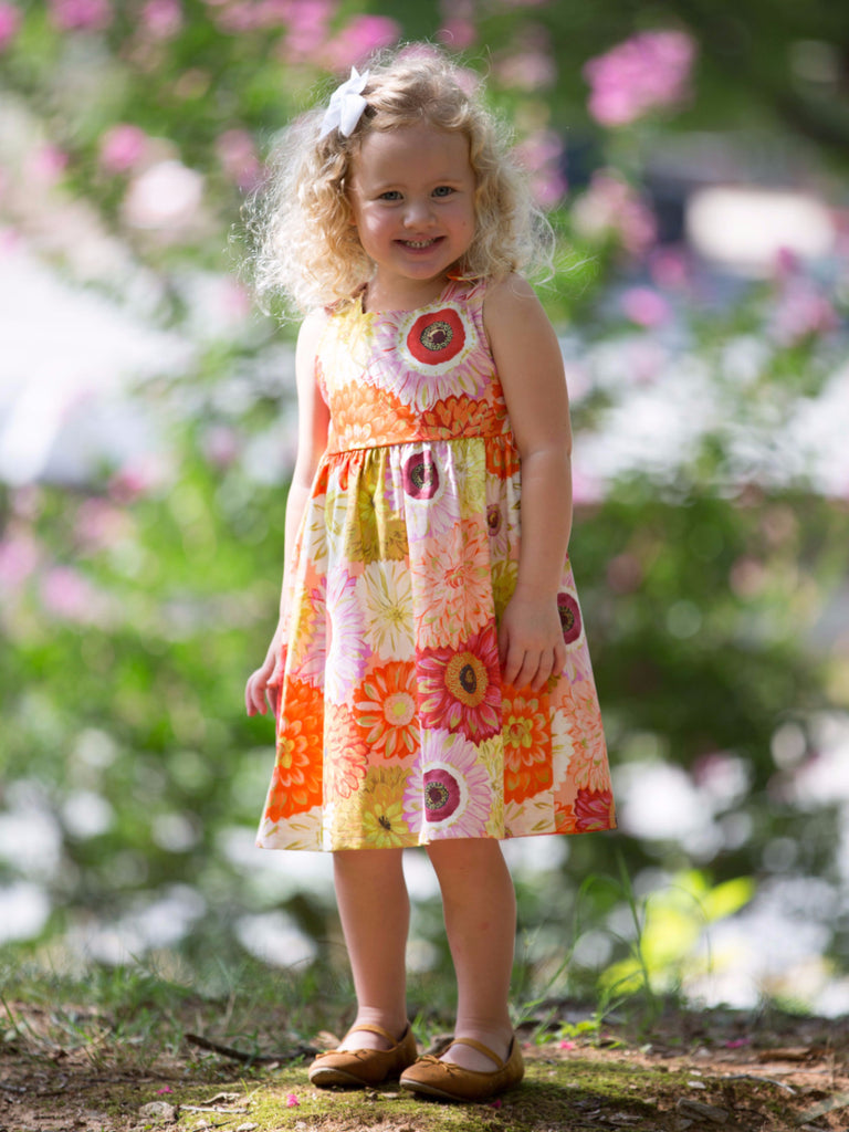 Sunrise Dahlia Dress