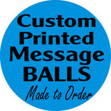 ShipaBall.com custom message round logo blue
