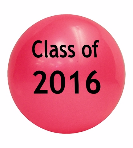 pink ball class of 2016 ship a gift ball