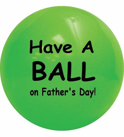 Father's Day gift ball for Dad Ship a Ball