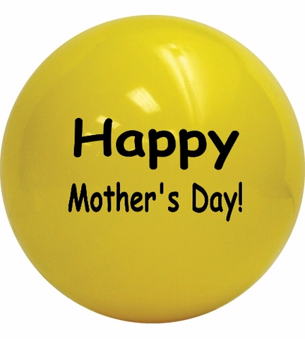 ShipaBall.com Mother's Day gift ball yellow
