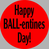 ShipaBall.com Love Valentines Day ball logo