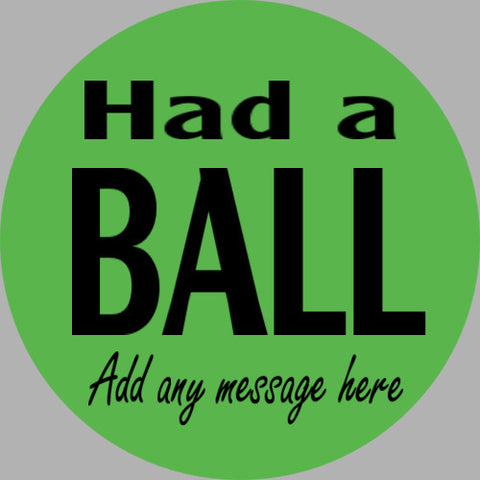 ShipaBall.com Had a Ball gift