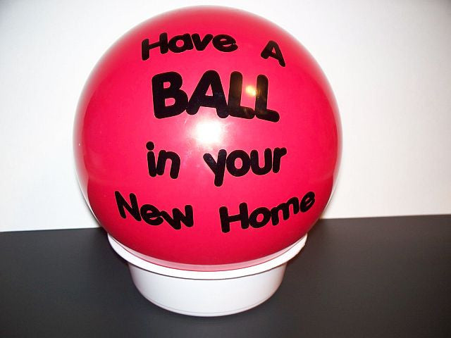ShipaBall.com new home ball red have a ball