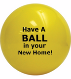 ShipaBall.com Promo realty thank you ball