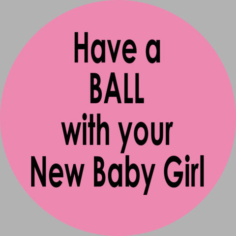 ShipaBall.com Baby Girl Ball logo