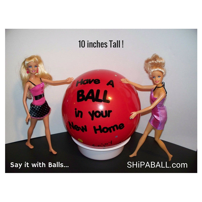 ShipaBall.com new home barbie gift Ball
