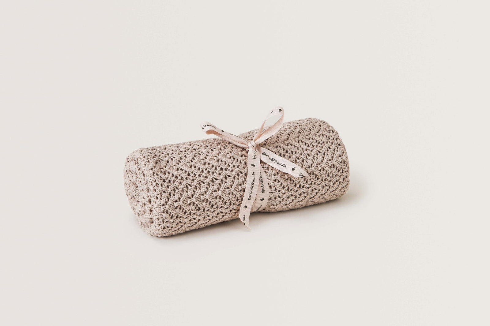 Breighe Crochet Cotton/Wool Blanket