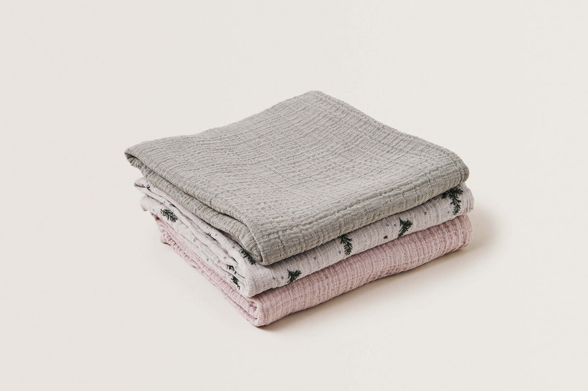 Muslin Swaddle • Rosemary