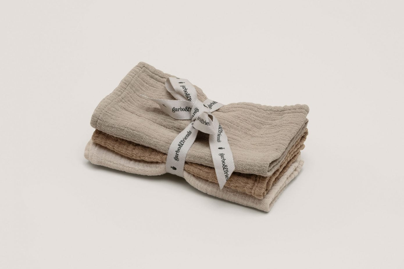 Olive Muslin Burp Cloths