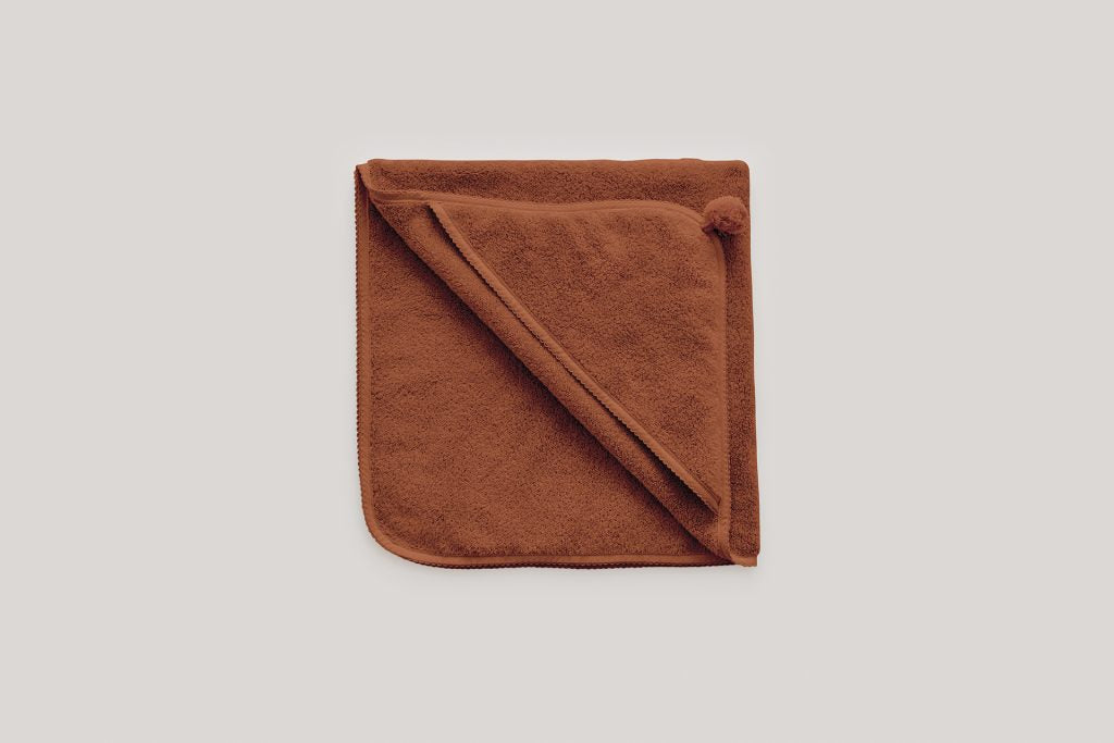 Cinnamon Baby Hotel Hooded Towel