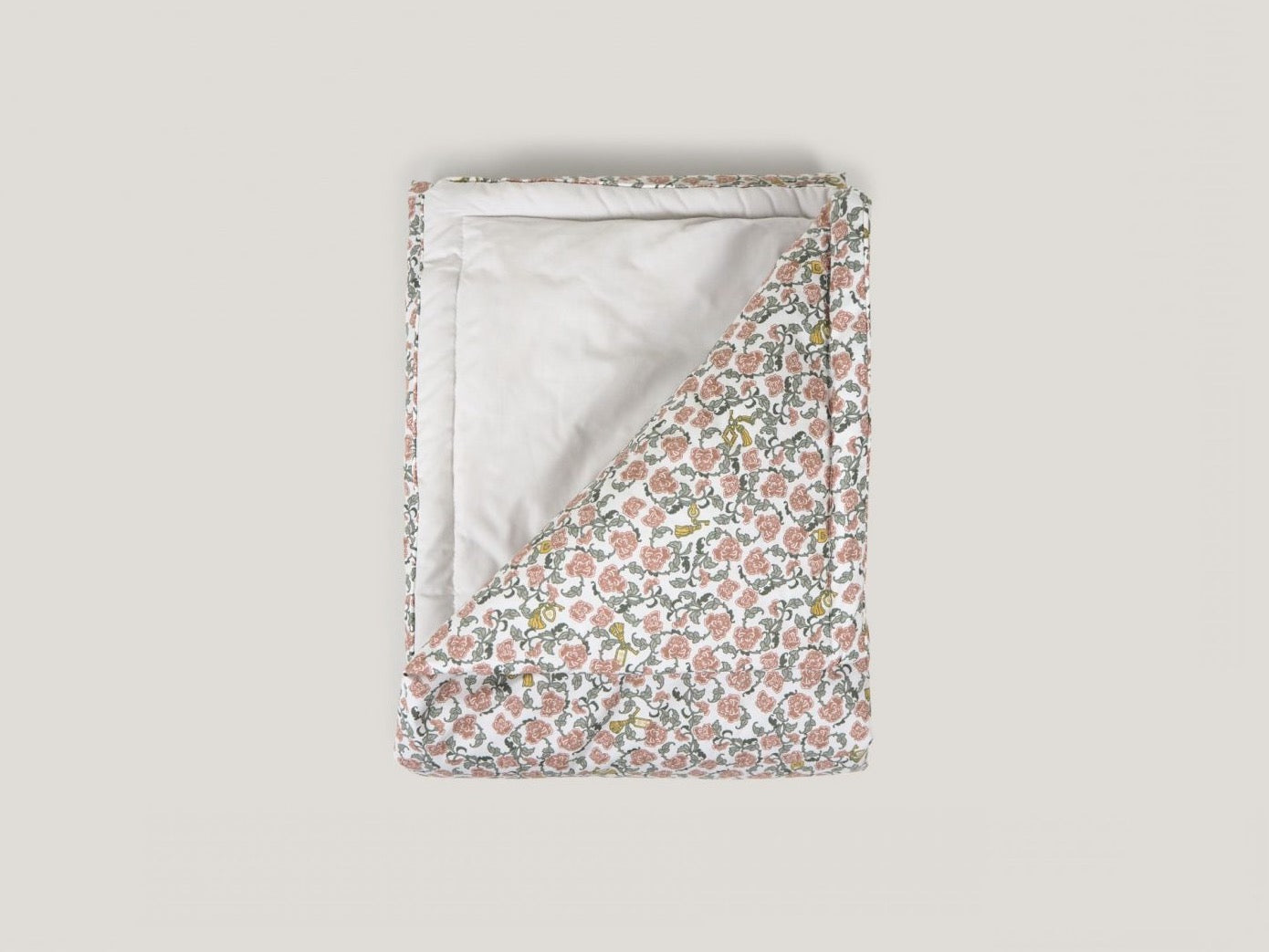 Floral Vines Filled Blanket