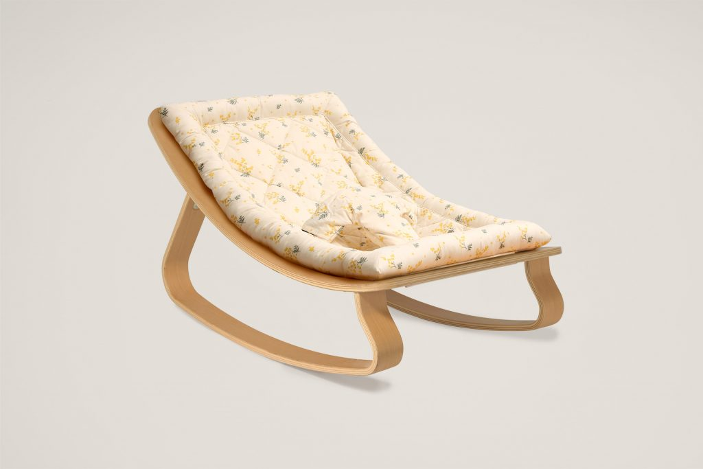 Charlie Crane LEVO Rocker with Mimosa Cushion
