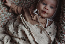 Load image into Gallery viewer, Bluebell Muslin Swaddle