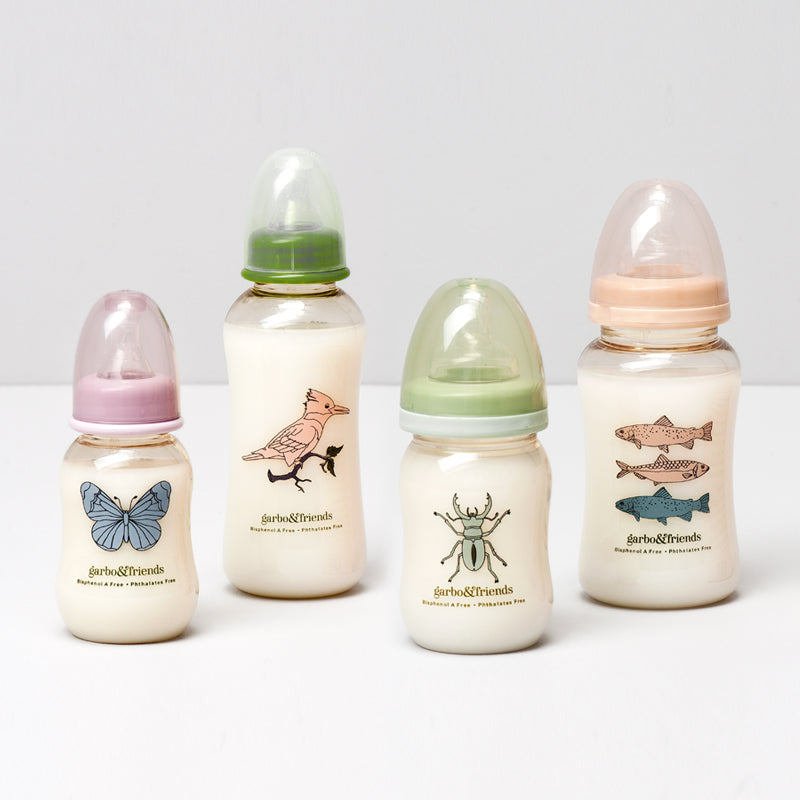 Garbo&Friends Complete Baby Bottle Set