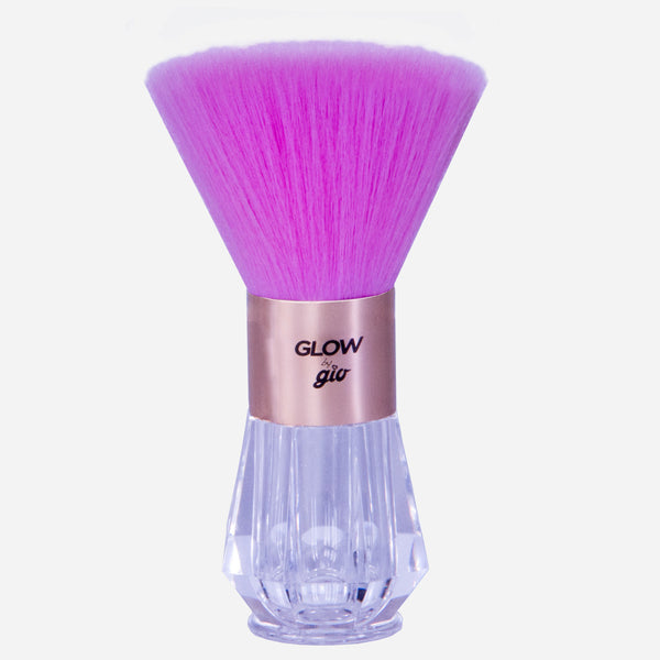 Glow by Gio Pink Shimmer Brush
