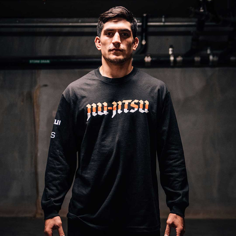 OSS X CUKUI LONG SLEEVE BLACK