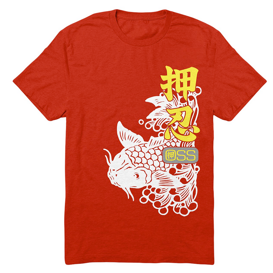 OSS Koi Shirt Red