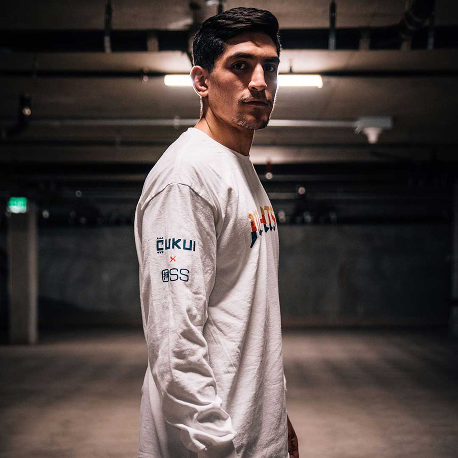 OSS X CUKUI LONG SLEEVE WHITE