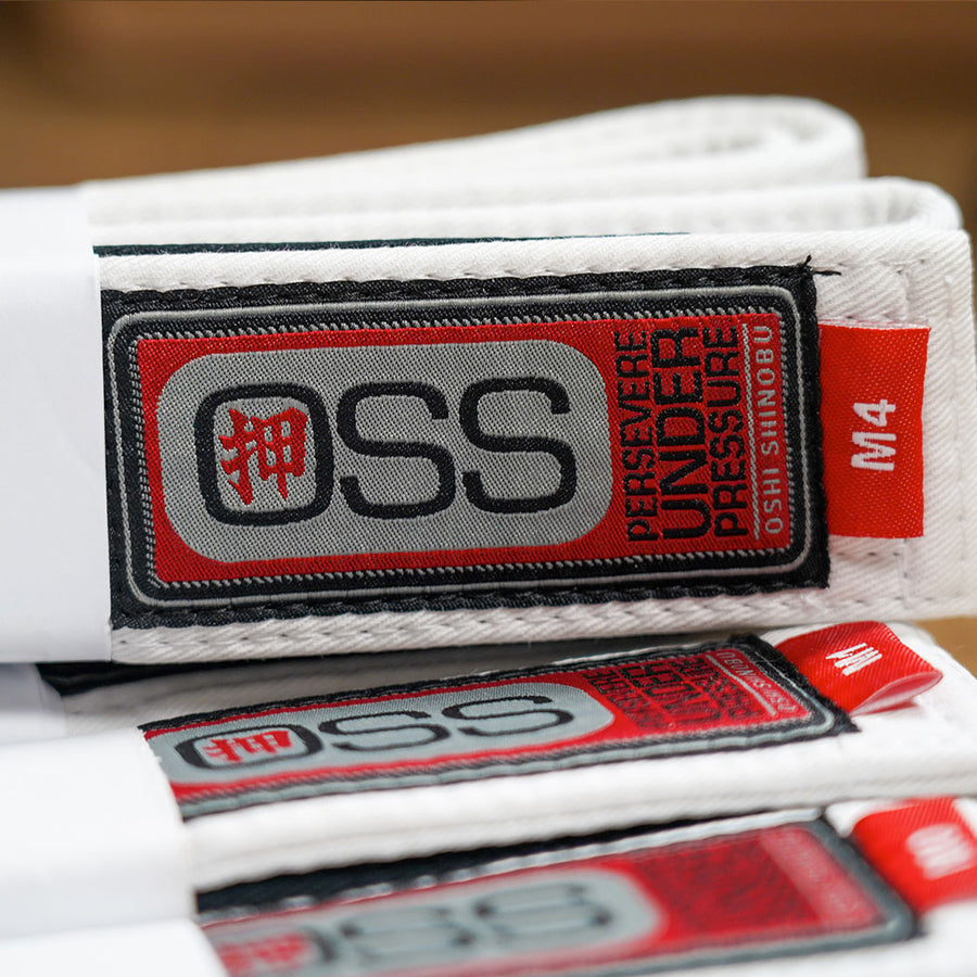OSS YOUTH BELTS WHITE